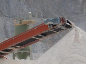 Belt conveyors major uses and applications