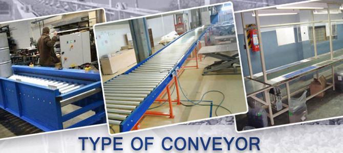Type of Conveyors